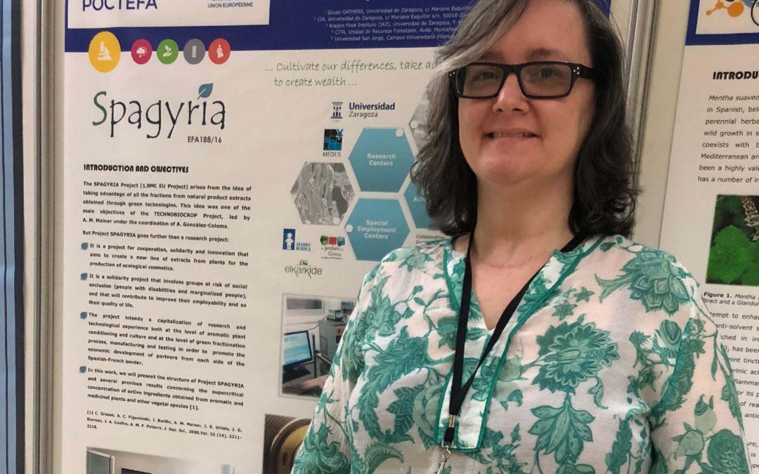El proyecto Spagyria despierta gran interés en sus presentaciones en encuentros científicos