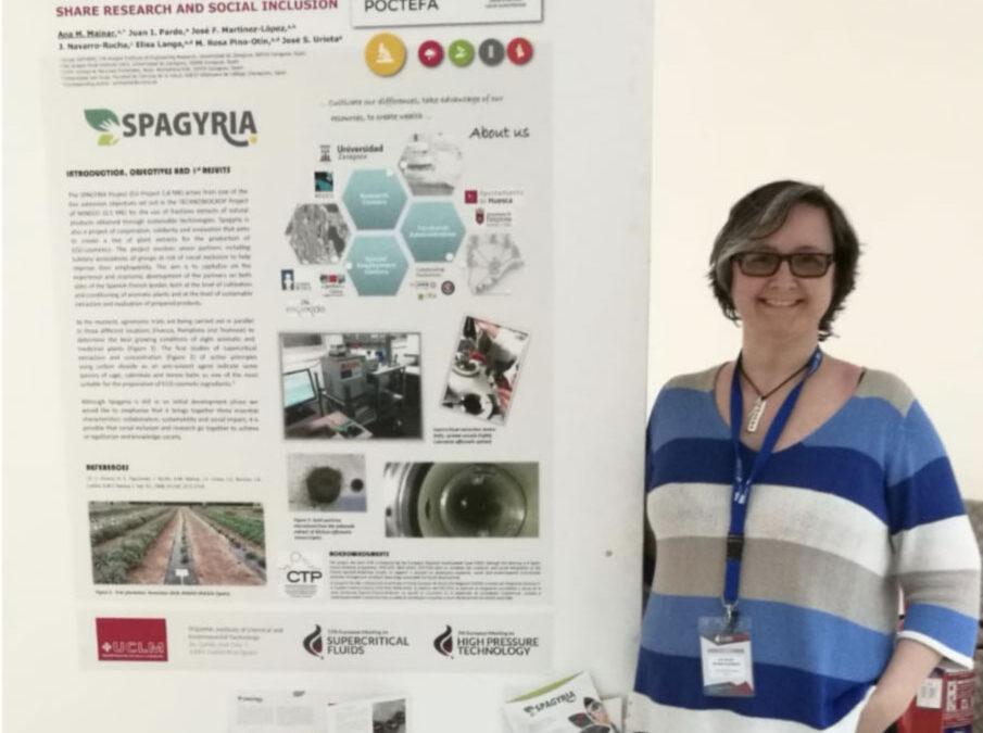 SPAGYRIA, présent lors de rencontres scientifiques