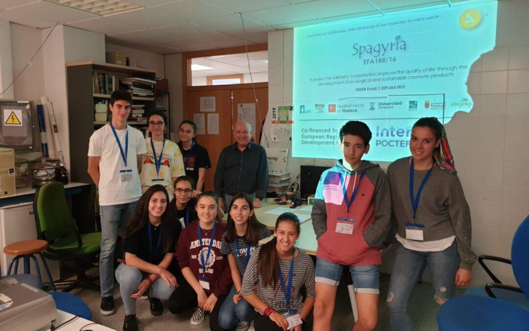 SPAGYRIA, présent à la Semaine d'Immersion Scientifique 2018-2019