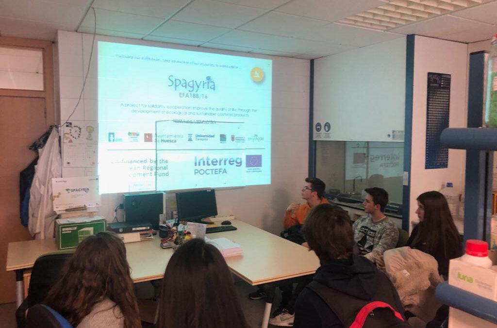 SPAGYRIA, en una jornada de puertas abiertas en la Facultad de Ciencias