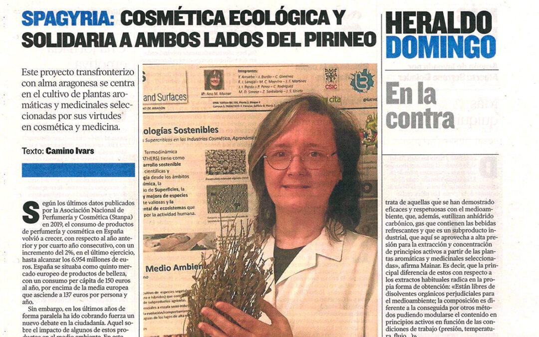 Publicación SPAGYRIA en Heraldo