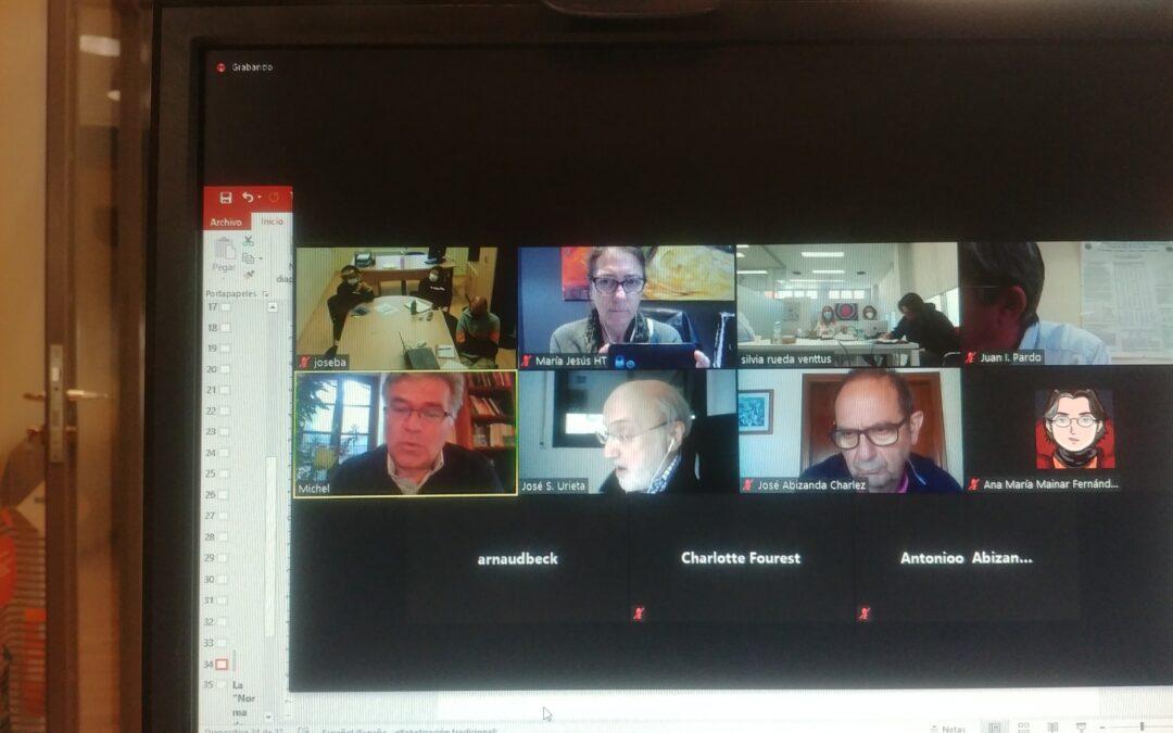 Nouvelle réunion des partenaires du projet SPAGYRIA
